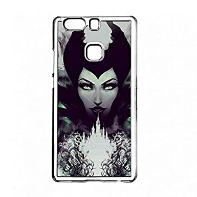 Clear Maleficent Poster Case Cover Transparent Huawei P9