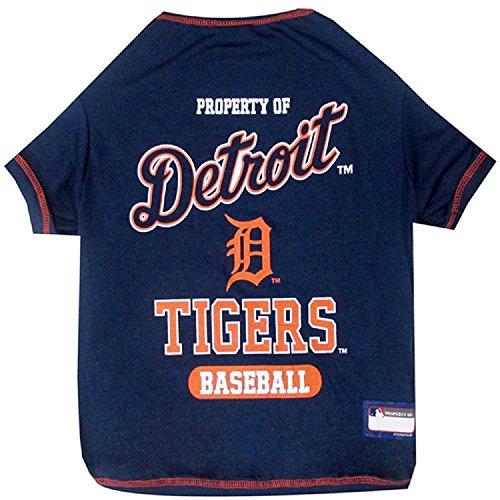 Detroit Tigers Dog Tee Shirt Small