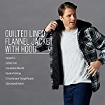 Fashion Shopping Wrangler Authentics Men's Long Sleeve Quilted Lined Flannel
