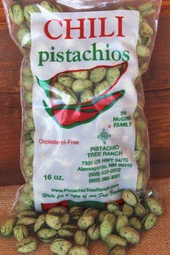 Bag Green Chili (Green Chili Pistachios 16 oz. bag)