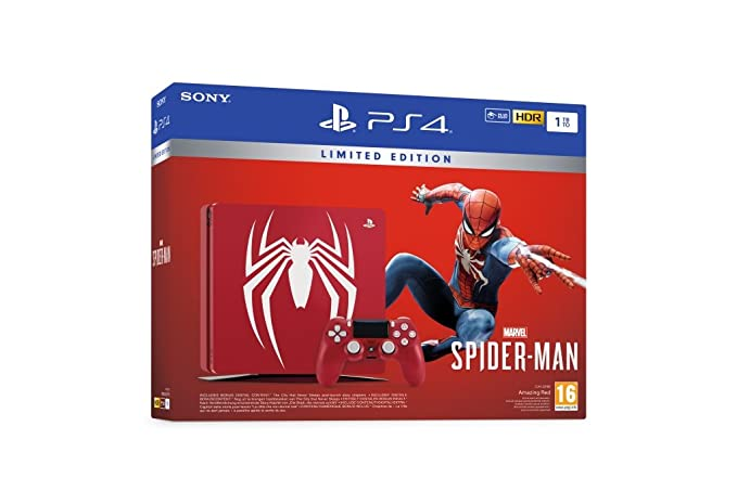 PlayStation 4 Marvels Spider-Man + Limited Edition PS4 1TB ...