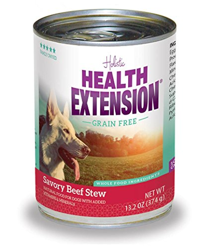 Health Extension Beef Stew Grain Free Wet Dog Food , 12/13.2