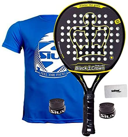 Pala De Padel Black Crown Revolution: Amazon.es: Deportes y aire libre