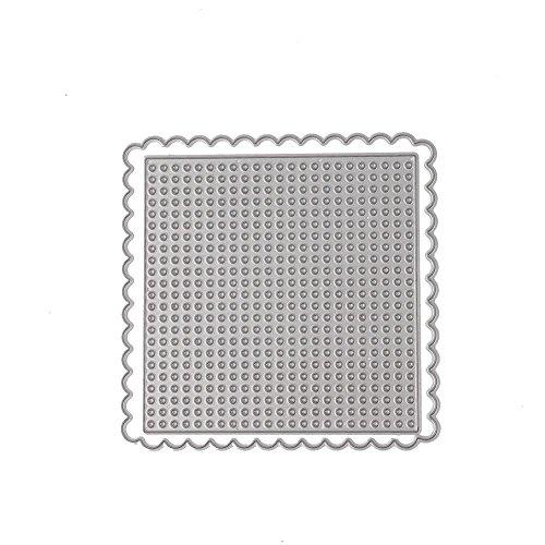 (キッズ ホウス) KIDS HOUSE レース刺繍 スクラップブック diyエンボスステンシル金属切削ダイスステンシル スクラップブッキング用品 エンボス加工 切り抜き紙が作れる型 節日 ダイカットテンプレート 雰囲気 紙飾り用具の商品画像