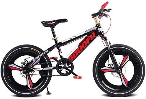 Bicicleta para niños, de 5 a 14 años de Edad, Puede Andar en Bicicleta, 4 Colores, Bicicleta de una Rueda Opcional Que Absorbe los Golpes: Amazon.es: Hogar