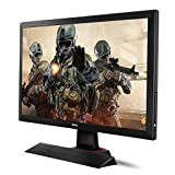 BenQ 24-Inch Gaming Monitor - LED 1080p HD Monitor - 1ms Response Time for Ultra Fast Console Gaming (RL2455HM)