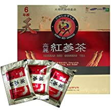 Korean Red Ginseng Tea 3g x 50 Packets Korean Ginseng Tea Made in Korea - 6 Year Roots