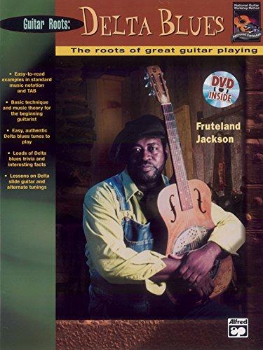 (Beginning Delta Blues Guitar: Book & DVD)