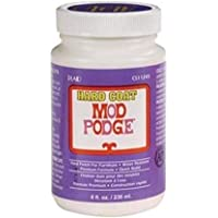 Mod Podge Hard Coat for Furniture, 8-Ounce (CS11245), 8 ounce, Clear