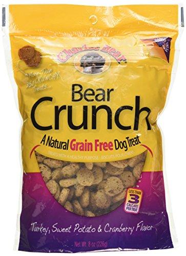 Cranberry Potato (Charlee Bear Grain-Free Bear Crunch Turkey, Sweet Potato & Cranberry Flavor 8 oz)