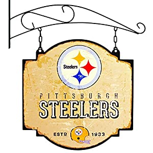 NFL Pittsburgh Steelers Tavern Sign - Multicolor at Steeler Mania