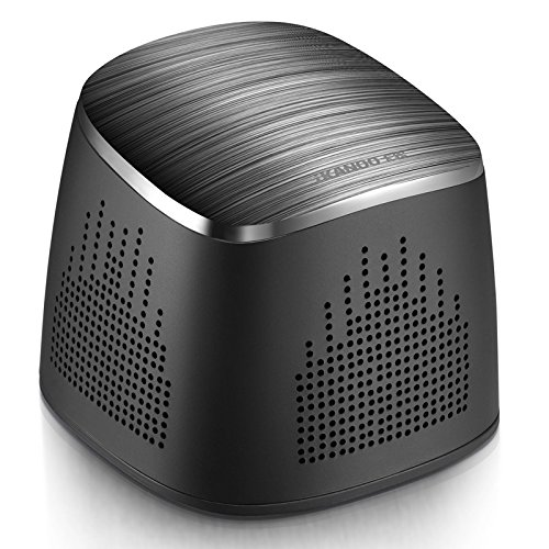 Fashionable Portable Bluetooth Speakers Wireless Speakers Stereo Elegant Speakers Ultra Clear HD Audio Sound Long Playtime for iPhone Samsung, Home, Work Best Father's Day Gift (Black)
