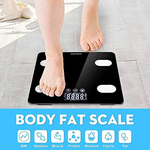 BMI Tester Digital Wireless Body Fat Analyzer ()