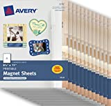 Avery Magnet Sheets , 8-1/2'' x 11'', White, Case Pack of 12 (3270)