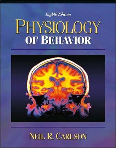 Of carlson physiology pdf behaviour