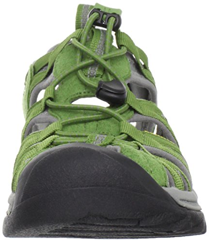 Pictures of KEEN Women's Whisper Sandal Coffee Liqueur/Yellow 6 B(M) US 2