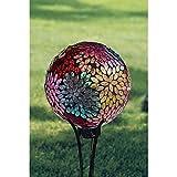 Carson Prismatic Petal 10 Gazing Ball