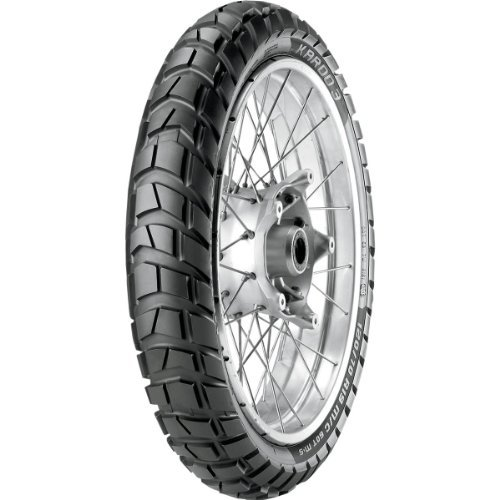 Metzeler Karoo 3 Tire - Front - 110/80R-19 , Position: Front, Rim Size: 19, Tire Application: All-Terrain, Tire Size: 110/80-19, Tire Type: Dual Sport, Load Rating: 59, Speed Rating: T, Tire Construction: Radial 2316000