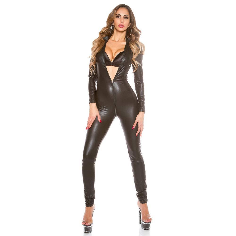 YIRENXIAO LenceríA Sexy/Ropa Interior De Mujer Charol Noche para Mujer De Traje De DS fbdd77