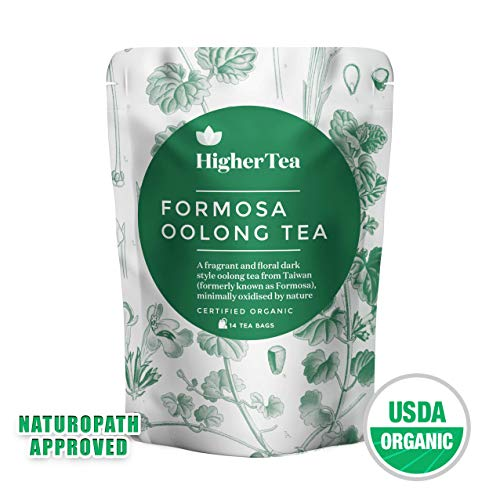 New premium Oolong Tea Pyramid Bags, By Higher Tea (14 Tea Bags). Formosa Organic Oolong - the best quality in the ()