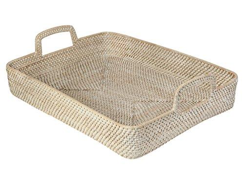 large wicker tray - 7