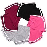 dayseventh Nueva Verano Pantalones De Mujer Pantalón corto de deporte gimnasio Yoga corto