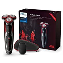 Philips Special Edition Star Wars Dark Side Wet & Dry Electric Shaver with Precision Trimmer, SW9700/83