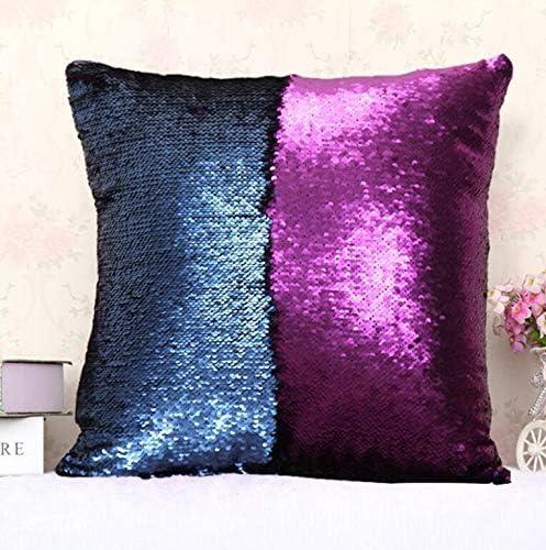 """Brown Purple Leaf housses de coussin Big Leaf violet 18x18/"""" Square Decor Home"""