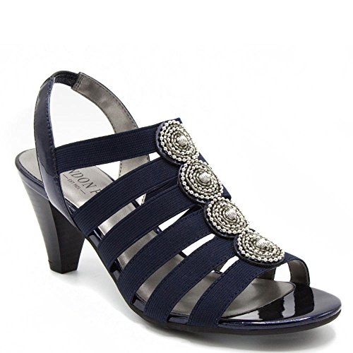 Sandals Dress Fog Navy London Nanci 7wtfRf4q