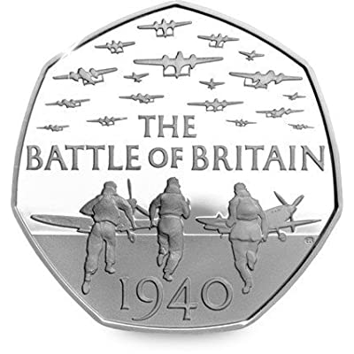 2015 75th Anniversary of the Battle of Britain UK 50p Uncirculated Out of Royal Mint Sealed Bag by Royal Mint