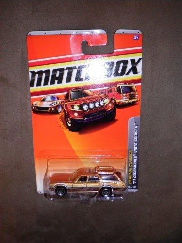 MATCHBOX 2010 HERITAGE CLASSICS 18/100 COPPER WOOD GRAIN '71 OLDSMOBILE VISTA CRUISER by (71 Oldsmobile Vista Cruiser)