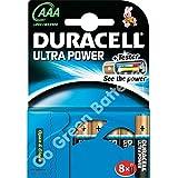Duracell Ultra Batteries AAA 4 + 4 Free - Pilas (Alcalino, 1,5V, AAA)