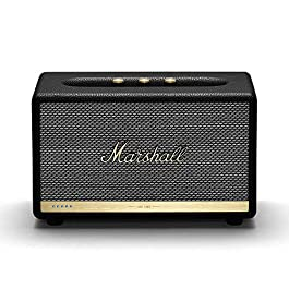 Marshall Acton II Wireless Wi-Fi Multi-Room Smart Speaker with Amazon Alexa Built-In, Black – NEW
