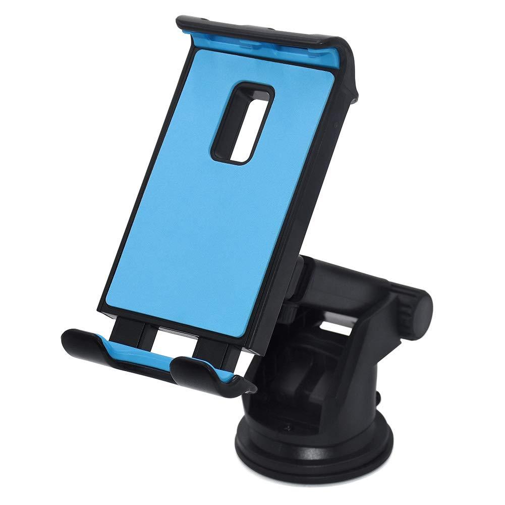 Blue Universal Car Phone Holder Yooh CZZJ-001 360/° Rotatable Anti-Slip Car Phone Mount Compatible iPhone Xs\XR\XS MAX 8 8P Samsung Galaxy Note 8 S8 S8+