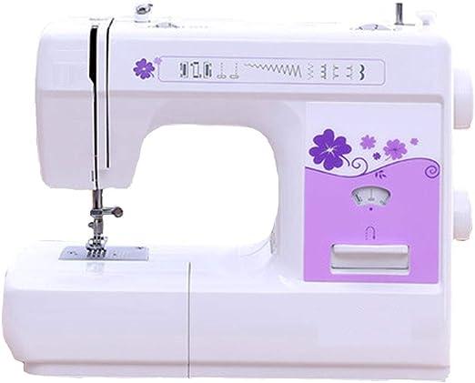 Máquina de coser-12 puntadas 2 patrones de velocidad Pedal ...