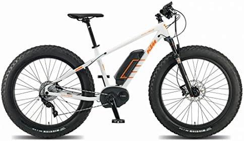 KTM Macina Freeze Plus Fatbike Bosch, bicicleta eléctrica, blanco ...