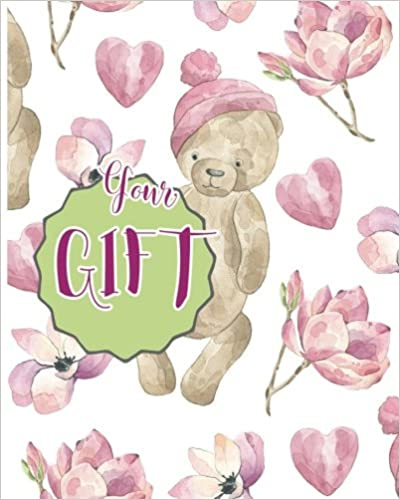 Your Gift: Gift : Blank book ; Notebook, Large 8 X 10 Blank, white, Unlined, Freely to write, sketch, draw and paint on for all. Enjoy yourself by ... Blank Journals): Volume 2 (123 Your Gift)