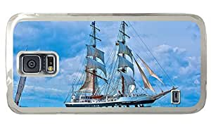 Hipster awesome Samsung Galaxy S5 Cases Sailboat Stavros Niarchos PC Transparent for Samsung S5