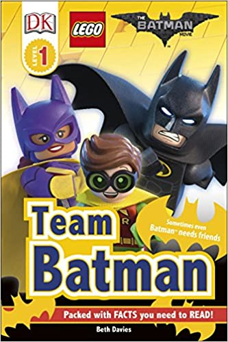 The LEGO® BATMAN MOVIE Team Batman DK Readers Level 1 ...