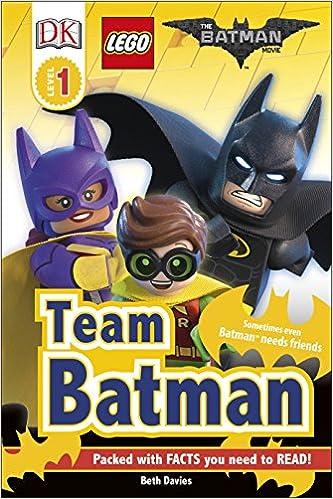 The LEGO® BATMAN MOVIE Team Batman DK Readers Level 1 ...