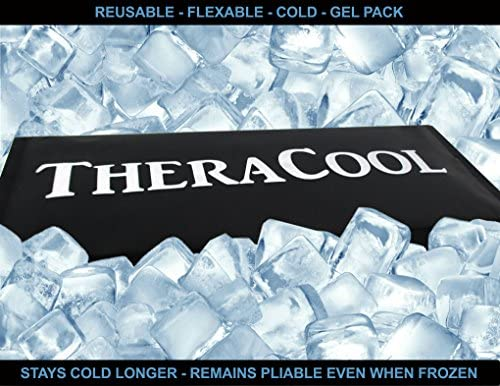 Ice Packs for Injuries | X Large Gel Cold Compress Best for Shoulder Back Ankle Arm Sciatic Nerve Pain Relief Arthritis Recovery Bruises Aches | Reusable 15 x 12 Oversized Medical Grade Therapy Aid