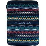 Capa para Laptop em Neoprene Azul Frida Kahlo Urban