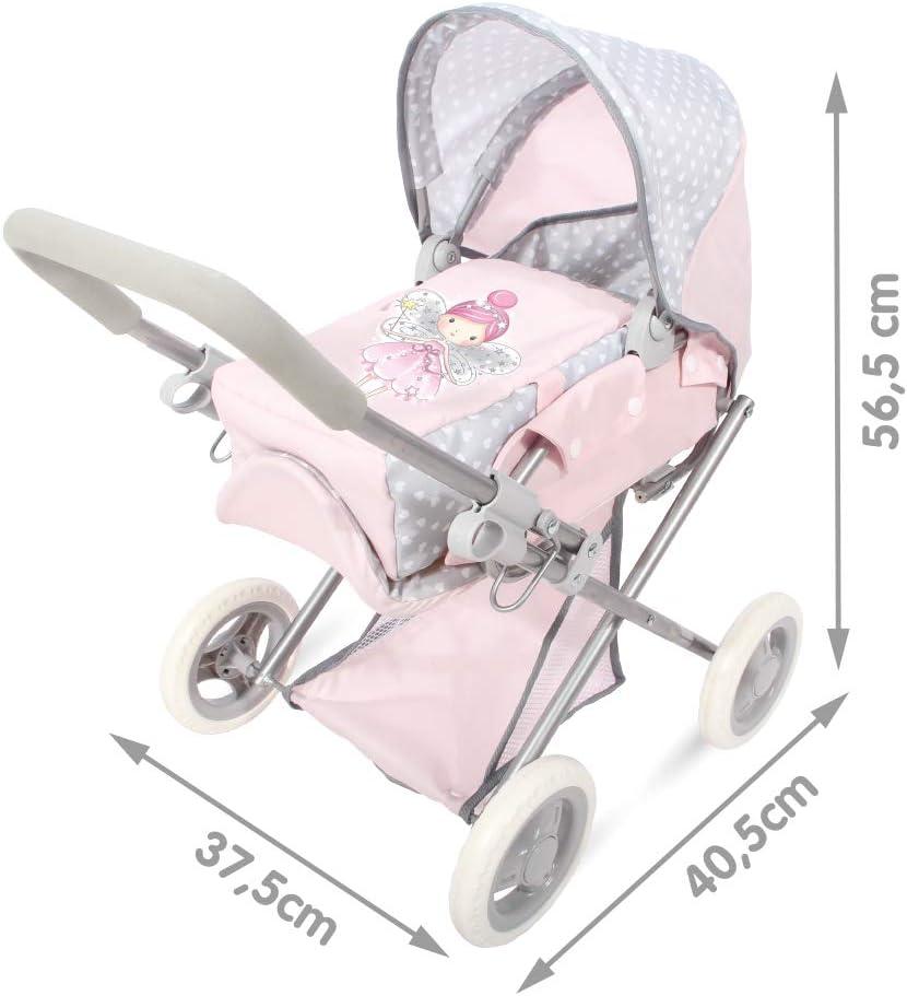 COLORBABY Voiture 3/en 1/Baby f/ées Couleur Rose 44920