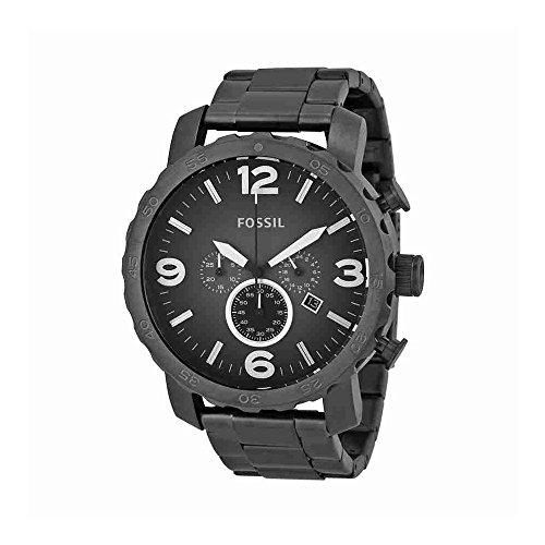 Nate Chronograph Smoke Stainless Steel Watch ()