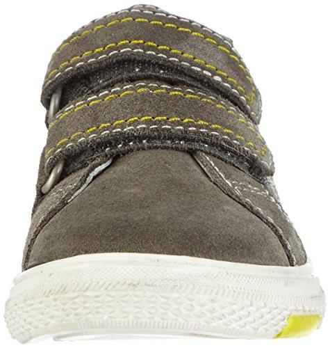 Richter Kinderschuhe Mose  6234-521 - zapatilla deportiva de cuero niño marrón - Braun (pebble/pineapple  6611)