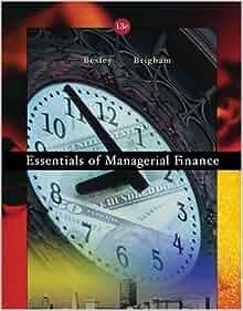 essentials of managerial finance pdf