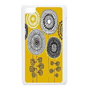 UNI-BEE PHONE CASE FOR IPod Touch 4th -Sunflower And Sun-CASE-STYLE 11