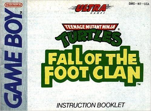 Teenage Mutant Ninja Turtles - Fall of the Foot Clan GB ...