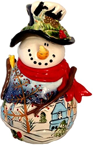 Blue Sky Clayworks Night Before Christmas Frosty Snowman Cookie (Blue Snowman)