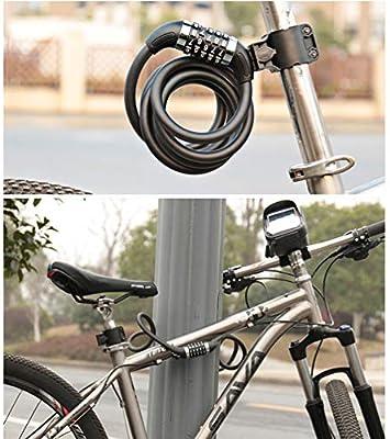 Bicicleta Cerradura Antirrobo Bicicleta de Montaña ...